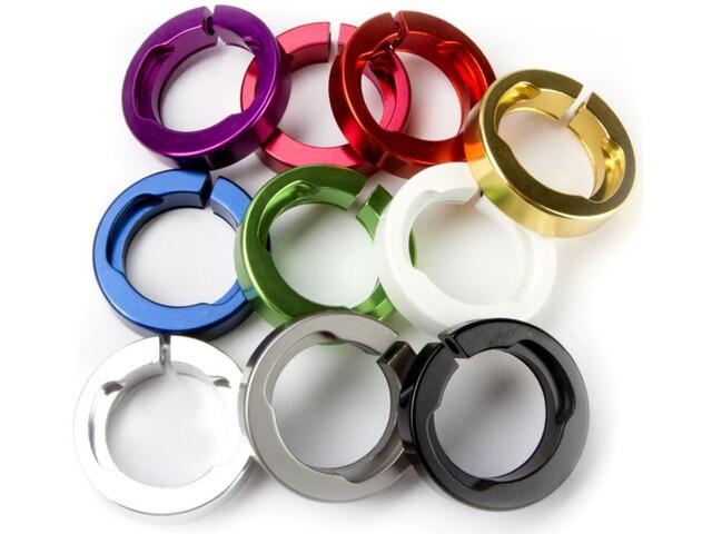 ODI Pierścień mocujący Pierścienie zaciskowe do systemów Lock-On, niebieski
